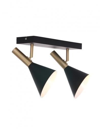 Foco moderno de dos luces-2492ZW
