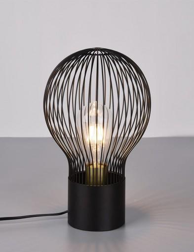 Lámpara de mesa de alambre-2541ZW