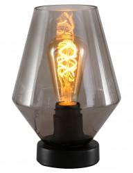 Lámpara de mesa vidrio ahumado-2557ZW