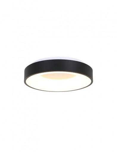 Plafón LED negro-2562ZW