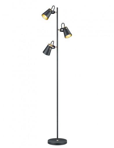 Lámpara de pie tres luces-2581ZW