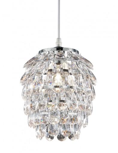 Lámpara de techo de cristal-2587CH