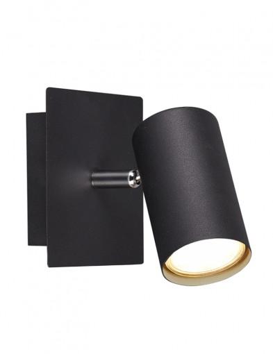 Foco de pared negro-2593ZW