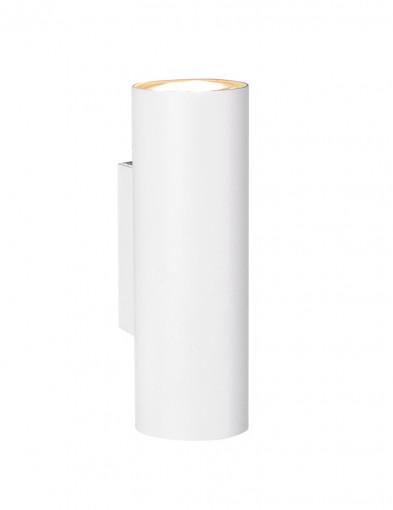 Aplique blanco cilíndrico-2597W