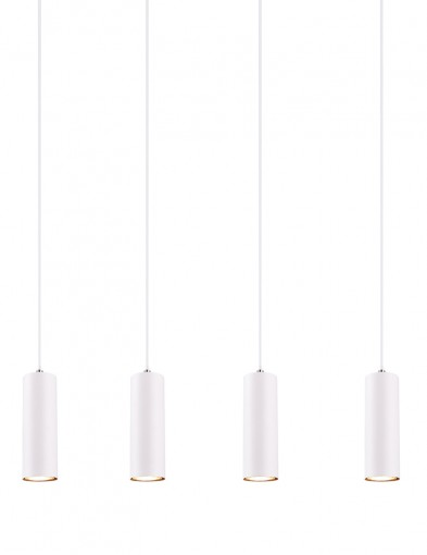 Lámpara moderna cuatro luces-2600W
