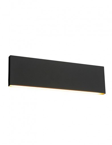 Aplique LED negro-2624A