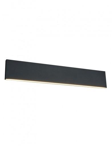 Lámpara de pared negra-2626A