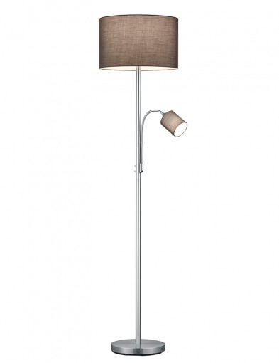 Lámpara de pie marrón-2634ST