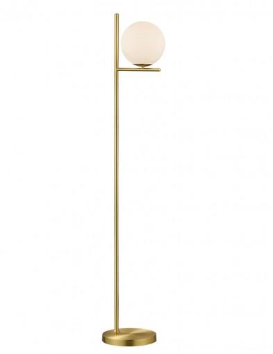 Lámpara de pie dorada-2642ME