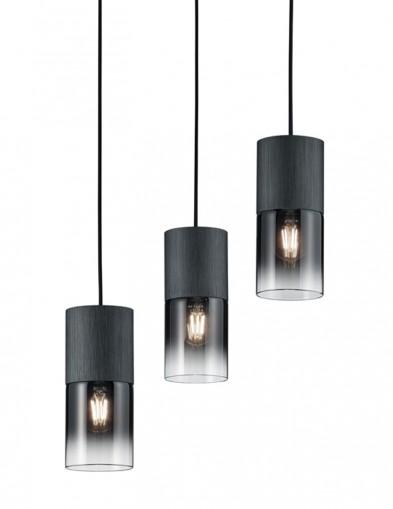 Lámpara colgante de tres luces-2648ZW