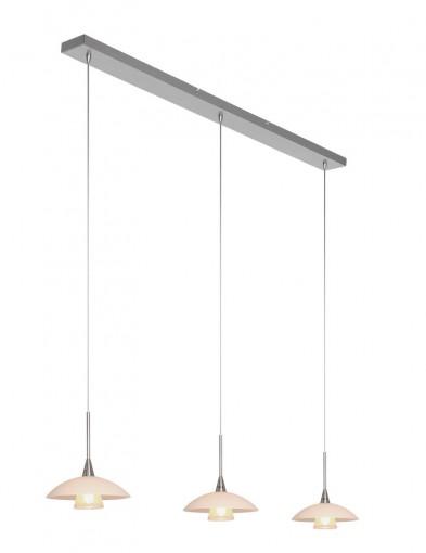 Lámpara de comedor con platillos Steinhauer Tallerken-2654ST