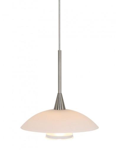 Lámpara colgante de acero Steinhauer Tallerken-2655ST