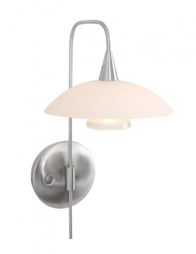 Lámpara de pared en acero Steinhauer Tallerken-2656ST