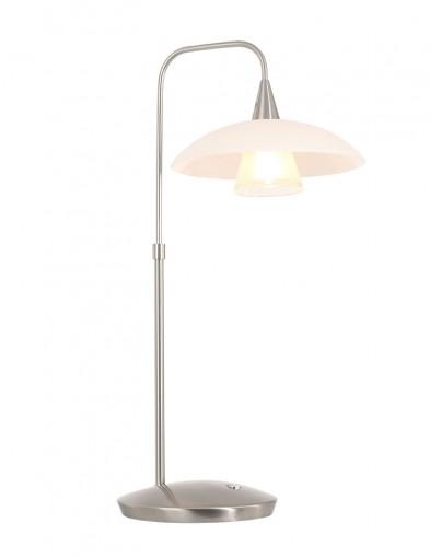 Lámpara de mesa de cristal Steinhauer Tallerken-2657ST