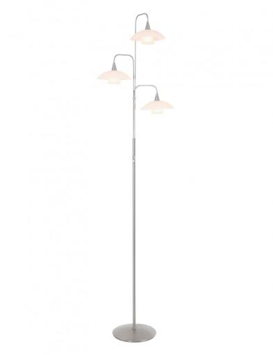 Lámpara de pie de tres luces Steinhauer Tallerken-2659ST