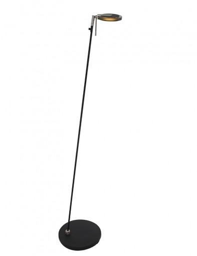 Lámpara de pie LED Steinhauer Turound negra-2664ZW