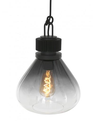 Lámpara colgante de vidrio ahumado-2669ZW