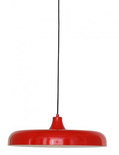 Lámpara colgante roja Steinhauer Krisip-2677RO