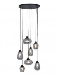 Lámpara de vidrio ahumado Steinhauer Reflexion-2679ZW
