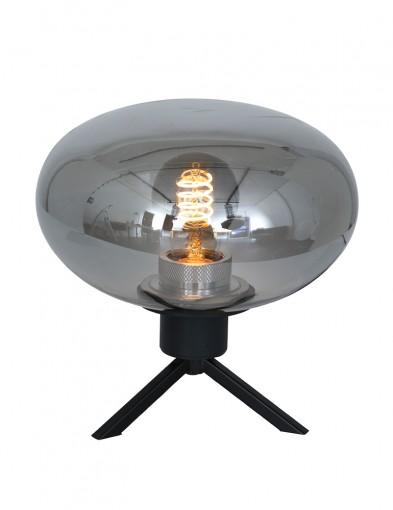 Lámpara de mesa pequeña con vidrio Steinhauer Reflexion-2681ZW