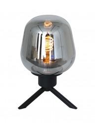 Lámpara de mesa con vidrio y trípode Steinhauer Reflexion-2683ZW