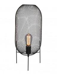 Lámpara de mesa de malla Mexlite Bodine-2707ZW