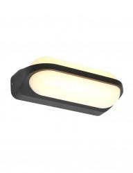 Lámpara exterior LED negra Steinhauer Siargao-2715ZW