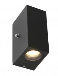Aplique exterior con sensor de crepúscular Steinhauer Poro-2721ZW