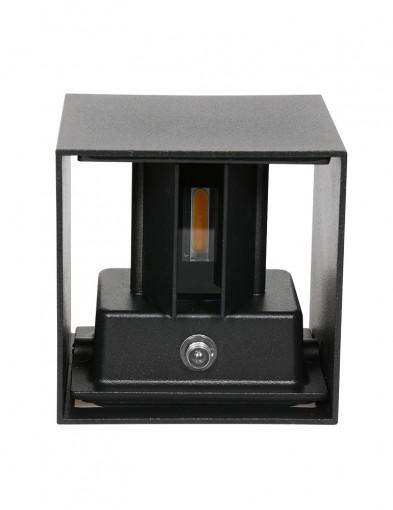 Aplique exterior cuadrado con sensor Steinhauer Cebu-2728ZW