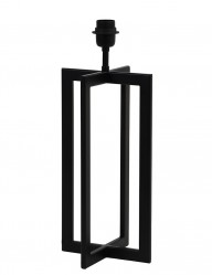 Base de lámpara negra Light & Living Mace-2776ZW