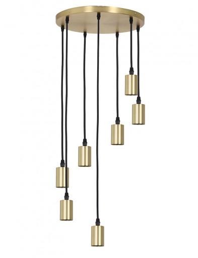 Lámpara dorada de siete luces Light & Living Brandon-2835GO
