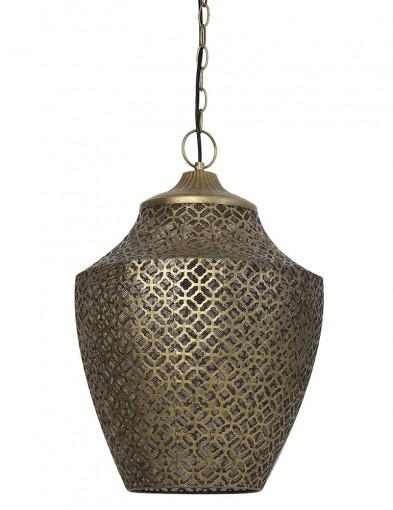 Lámpara colgante oriental bronce-2844BR