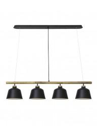 Lámpara de techo  cuatro luces Light & Living Banu-2845ZW