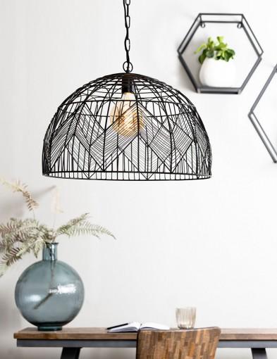 Lámpara colgante de jaula Light & Living Kalibo-2860ZW