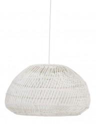 Lámpara de techo trenzada blanca-2867W