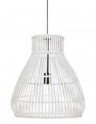 Lámpara trenzada de madera-2868W