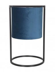 Lámpara de mesa azul-2896BL