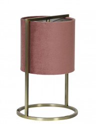 Lámpara de mesa rosa Light & Living Santos-2897RZ