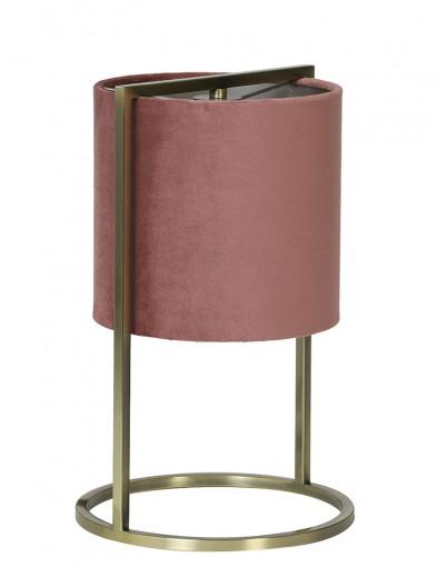 Lámpara de mesa rosa Light & Living Santos-2897RZ