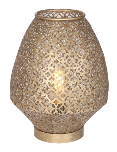 Lámpara de mesa oriental-2906BR