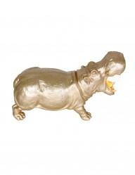 Lámpara de mesa dorada Hippo-2924GO