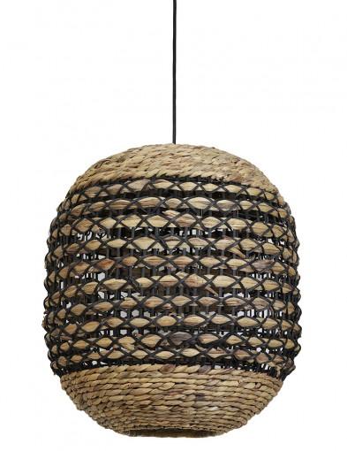Lámpara de ratán trenzado Light & Living Tripoli-2935B