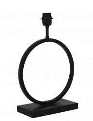 Base de lámpara redonda negra Light & Living Liva-2960ZW