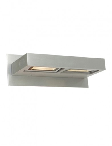 Aplique rectangular dos focos LED-7325ST