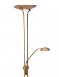 Lámpara LED de lectura bronce Mexlite Jens-7500BR