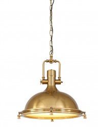 Lámpara colgante dorada clásica Mexlite Elija-7636BR
