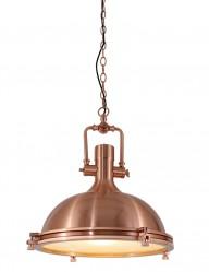 Lámpara de techo de cobre-7636KO