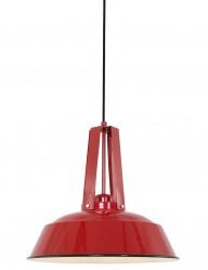 Lámpara de techo roja alegre Mexlite Eden