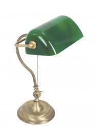 Lámpara de banquero clásica Mexlite Belana-7733BR