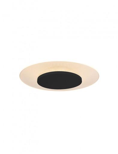 Plafón moderno color negro Steinhauer Lido-7797ZW